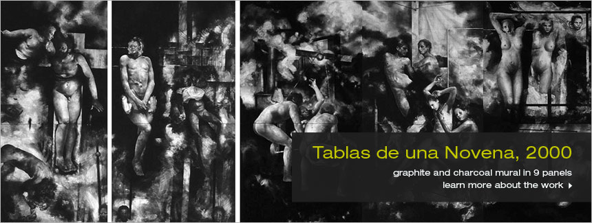 Tablas de una Novena by Hugo Crosthwaite